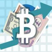 افزایش حجم معاملات بیت کوین