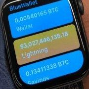 خرید بیت کوین از ساعت هوشمند اپل در شبکه لایتنینگ