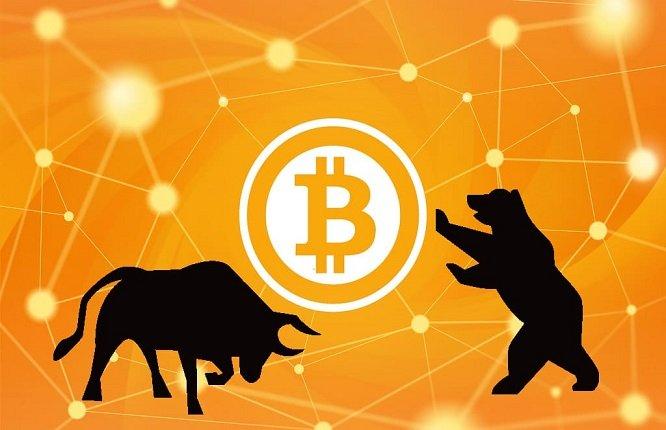 بازار خرسی و گاوی در ارز دیجیتال بیت کوین