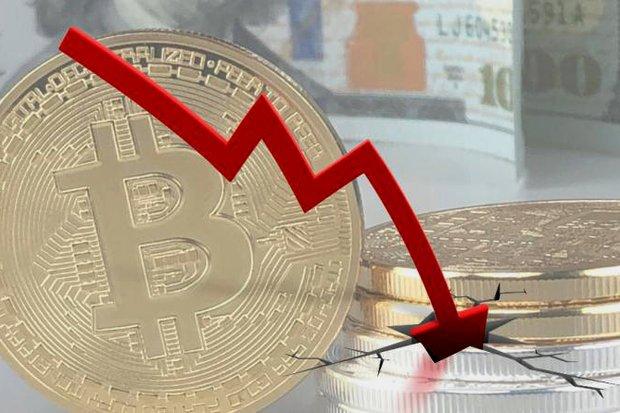 کاهش قیمت ارزهای دیجیتال
