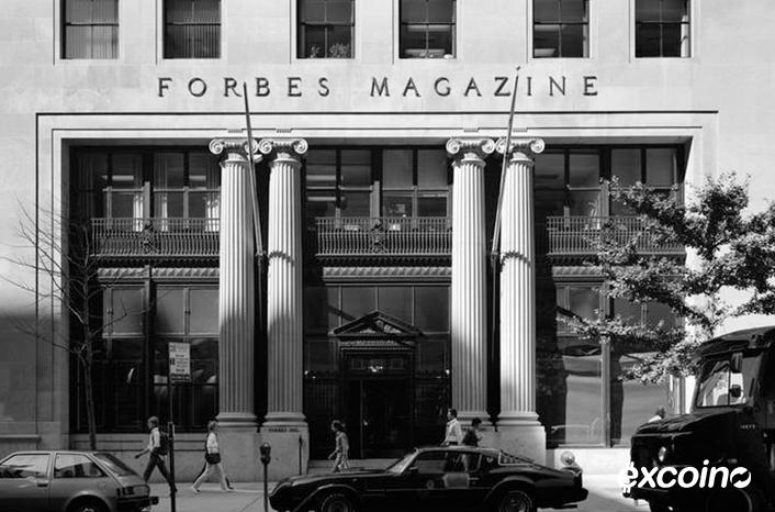 حضور ۱۰ نفر از فعالین حوزه ارزهای دیجیتال در فهرست افراد تاثیرگذار مجله فوربز